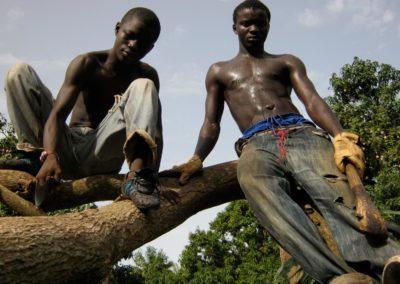 Jeunes travailleurs des champs ©LesAteliersPIXEL