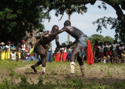 Mbapatt, lutte traditionnelle. Une activité sportive et spirituelle ©LesAteliersPIXEL