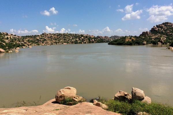 La rivière de Tungabhadra